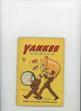 YANKEE COMICS #4 | Dynamic | January 1943 | Vol 1 | #ing cont's from Scoop Comic