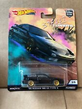 HOT WHEELS CAR CULTURE Street Tuners -'96 Nissan 180 SX Type X - 3/5