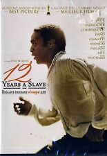 NEW DVD // 12 YEARS A SLAVE // Chiwetel Ejiofor, Michael Fassbender, Brad Pitt,
