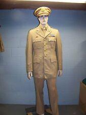 WWII U.S. Army Officer's Complete Khaki Uniform