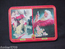 SET OF TWO PACKS COCA COLA CARDS IN A METAL TIN -FACTORY SEALED CARDS 1996