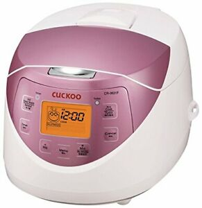 Cuckoo CR-0631F 6 Cup Micom Rice Cooker and Warmer 10 Menu Options Made it Ko...