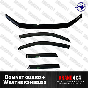 Bonnet Protector Weathershields for Ford Territory 2011-2016 SZ Tinted Guard