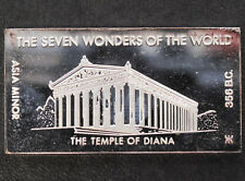 1971 Kennedy Mint The Temple of Diana Silver Art Bar KEN-20 P1669