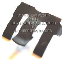 FITS GMC FITS CHEVY PICKUP TRUCK 63-64 GLASS RUN CHANNEL CLIPS 20  FREE SHIP