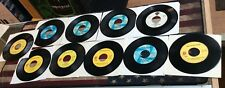 Vintage Rolling Stones 45 Vinyl Lot Of 10! See Pics!