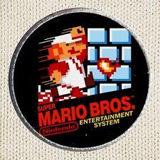 Super Mario Bros Patch Picture Embroidered NES Poster Nintendo Luigi Koopa