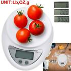 LCD Electronic Digital Kitchen Scale Cooking Weighing Food Scale 11LBS/5KG x 1g photo