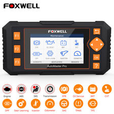 ABS SRS EPB BMS Oil Reset Diagnostic Tool Foxwell Automotive OBD2 Code Reader