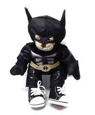 "BUILD A BEAR FACTORY DC Comics BATMAN 15"" Plush Soft toy Hero CUTE!"