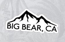 """BIG BEAR LAKE California Decal Sticker Skiing Ski Mountain 4"""" x 1.7"""""""
