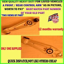 X1FOR PORSCHE 911 996 BOXSTER 986 CAYMAN LOWER FRONT REAR CONTROL ARM LEFT OR RH