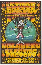 MINT & SIGNED String Cheese Incident 1999 Philadelphia Everett Poster