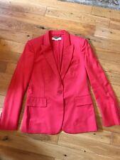 Stella McCartney One Button Suit Jacket / Blazer Orange Size 44