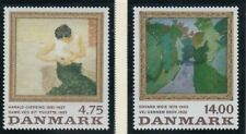 Denmark Sc 951-952 1991 Paintings stamp set mint NH