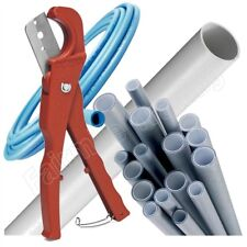 Plastic Pipe Cutter up to 34mm Ridged PVC Waste Speedfit Hosepipe Plumbing Tool