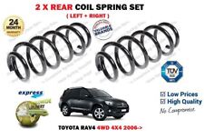 FOR TOYOTA RAV4 2.0i 2.2 D 4WD 4X4 2006--> NEW 2X REAR COIL SPRINGS SET