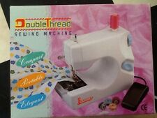 sewing machine compact portable lightweight double thread