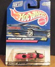 1998 Hot Wheels #1075 Scorchin Scooter - 24089 Duncans Error Packaged Sideways