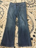 Citizens of Humanity - Women's sz 28 Kelly #001 Stretch Low Waist Boot Cut Jeans