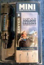 Sawyer SP128 Mini Water Single Filtration System Single - Blue