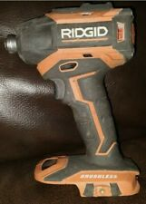 """Ridgid R86035 18V ¼"""" Impact Driver w/Quick Release Chuck -Tool Only 3 speed"""