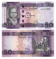 2015 P-72c Sattelite Water Dam Banknote Unc North Sudan 5 Pounds