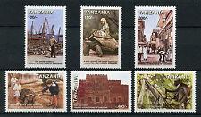 Tanzania 1998 MNH Zanzibar Tourist Attractions 6v Set Tortoises Monkeys Stamps