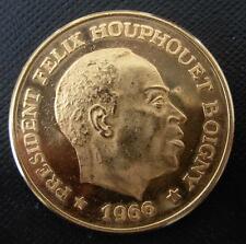 Ivory Coast 1966 Gold 100 Francs Proof