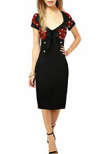 Unbranded Knee Length Wiggle, Pencil Dresses for Women