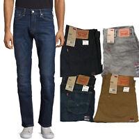 Levi's 513 Jeans Mens Slim Fit Straight Stretch Denim Pants Levi Strauss