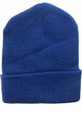 144 pc Solid Color Knit Beanie Winter Hat Toboggan WHOLESALE BULK LOT