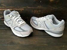 New Balance 990 Athletic Sneakers GC990GL5 Suede Grey Silver Boys Size 6.5 NWOB!