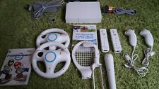 WII BUNDLE  + WII SPORTS + MARIO KART + 2 REMOTE WII