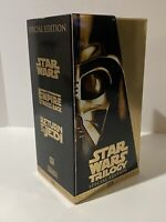 🔥 Star Wars Trilogy (VHS, 1997, Special Edition - Limited Edition Release) RARE
