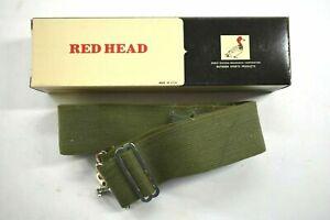 "Vintage Redhead 46"" Adjustable Army Green 25 Round 192 Shell Belt Reg 735-575"
