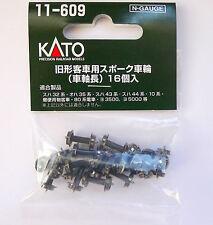 Kato N Scale 11-609 Metal Wheel Black