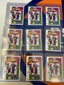 Lot Of 9 PEDRI #55 FC BARCELONA ROOKIE STICKER LA LIGA SANTANDER 2020-21 PANINI