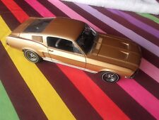 Rare Ford Mustang GT 390 flastback 1967  AUTOART   1 18 auto art (shelby cmc)