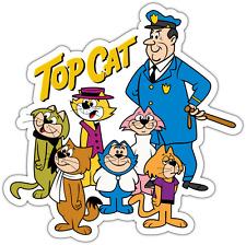 "Top Cat Cartoon Kids Car Bumper Window Vinyl Sticker Decal 4""X5"""