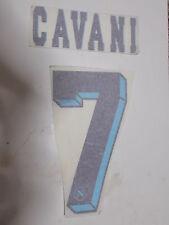 CALCIO PERSONALIZZAZIONE NOME E NUMERO PER MAGLIA CALCIO NAPOLI 2012/13 CAVANI