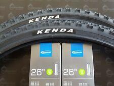 2x Fahrradreifen 26 Zoll Kenda 26x1.75 47-559 inkl. 2 x Schlauch  AV Schwalbe