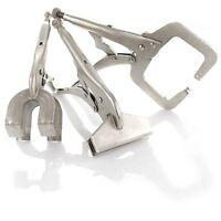 Capri Tools 3-Piece Welding Clamps Set