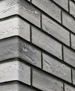 Brick Slip Elastolith-Nebraska-Flexible-Grey ( 1 M2 ) DIY Friendly