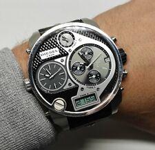 Diesel 3 bar Montre Chronographe Homme  Quartz  Bracelet cuir