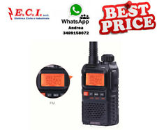 Baofeng UV3R Plus Mini Walkie Talkie Intercom Uhf Vhf Dual-Band Dual
