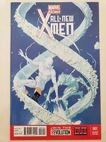 ALL-NEW X-MEN #1 (2013) MARVEL NOW! COMICS ICEMAN VARIANT COVER ART! BENDIS!