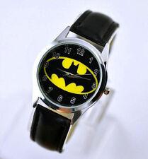 New Batman Wrist Quartz Ladys Man Girl Child Boy Modern Watch 199 Stainless stee