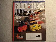 Road & Track November 2010 Corvette ZR1 BMW Ferrari Jaguar XKR Porsche Fiesta