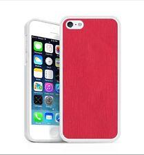 Backhug Slim Case for Apple iPhone 5 5s, Silver Frame & Saffiano Pink Leather